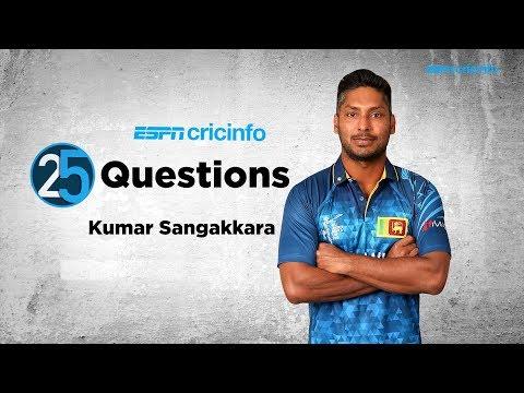 25 Questions with Kumar Sangakkara