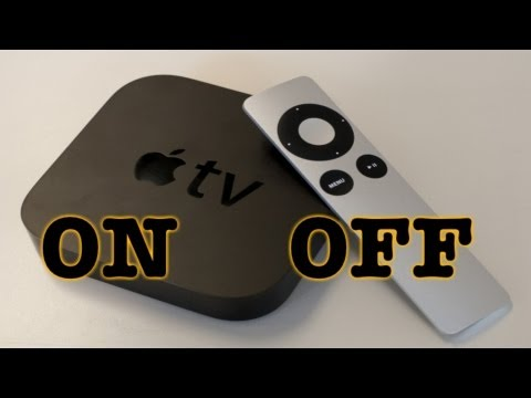 How To Turn On Apple TV  How To Turn Off Apple TV
