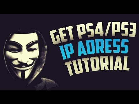 how to change ip address ps4