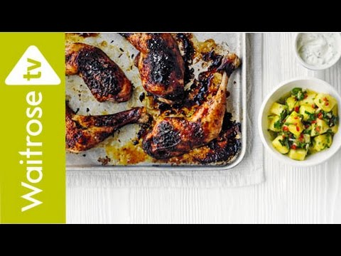 Sticky Chicken Legs | Waitrose