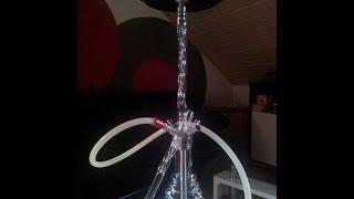 Nargilem NPS / Timeless Glass Helix 3 Glasrauchsäule Vorstellung