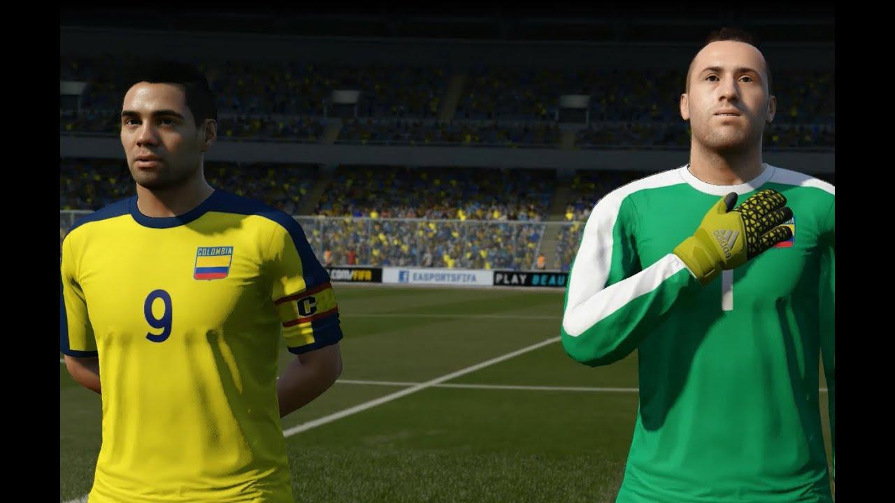 Colombia Vs Uruguay: FIFA 16 Colombia Vs Uruguay HD PS4/XBOX ONE GAMEPLAY