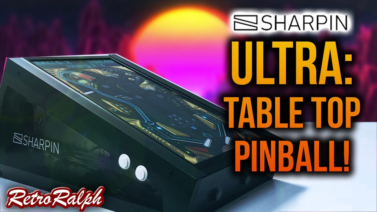 Wicked Awesome Bartop PINBALL!