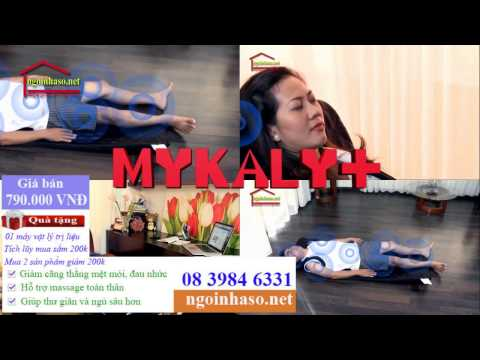 Nệm massage toàn thân Mykaly+ Ngôi Nhà Số