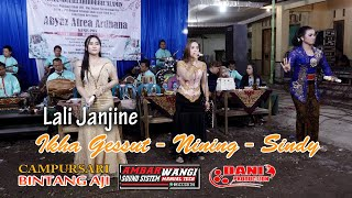 Lali Janjine - Ikha Gessut Nining Sindy - CAMPURSARI BINTANG AJI Live Pogung - Ambarwangi Audio