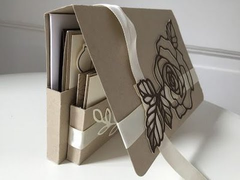 Handmade Cards and Tag Gift Set using Rose Garden by Stampin' Up