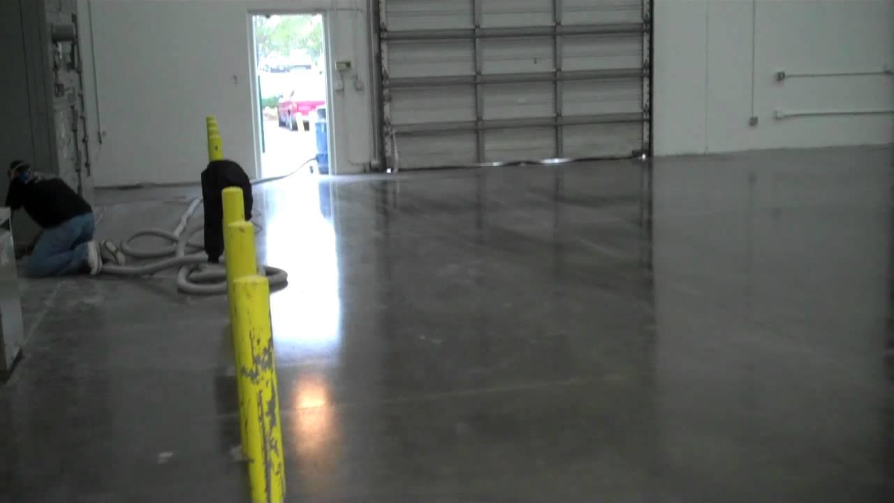 Warehouse Floor Epoxy Concrete Prep And Seal Los Angeles