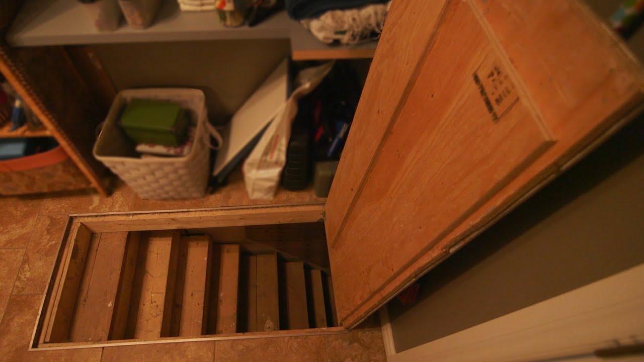Floor Hatch Trap Door To Basement