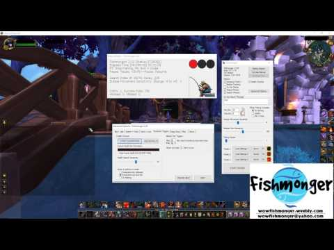 How To Use The Shutdown Triggers For Fishmonger World Of Warcraft Fishing Bot