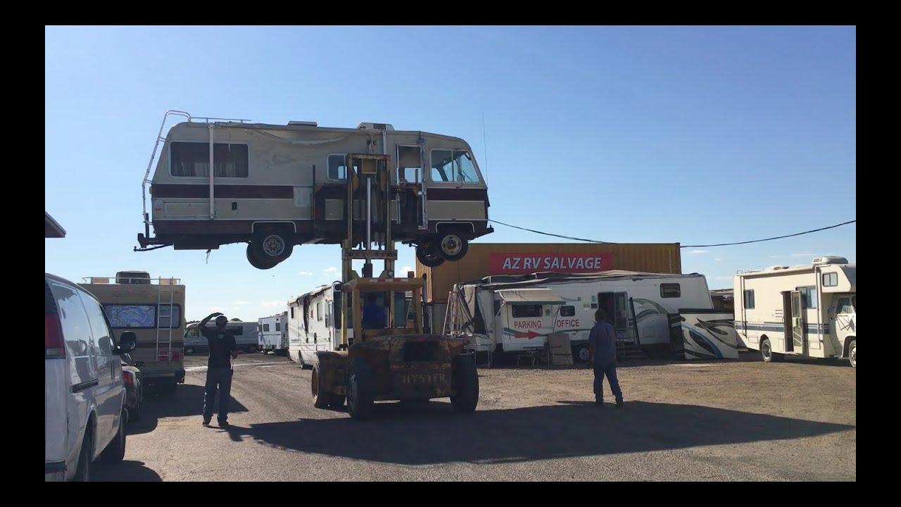 Arizona RV Salvage at a Glance