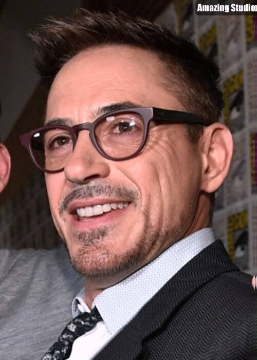Robert Downey Jr Crew Cut Hairstyle