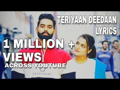 Teriyaan Deedaan lyrics song | Dil Diyan Gallan | Prabh Gill | Parmish Verma |