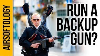 Why You Should Carry a Backup Airsoft Gun...   Airsoftology Q&A Show