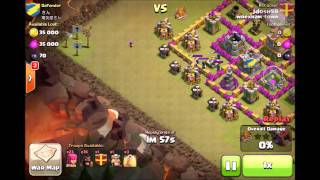 Clash of Clans: How to do an INSANE Level 1+ Hog Rider Raid!!!