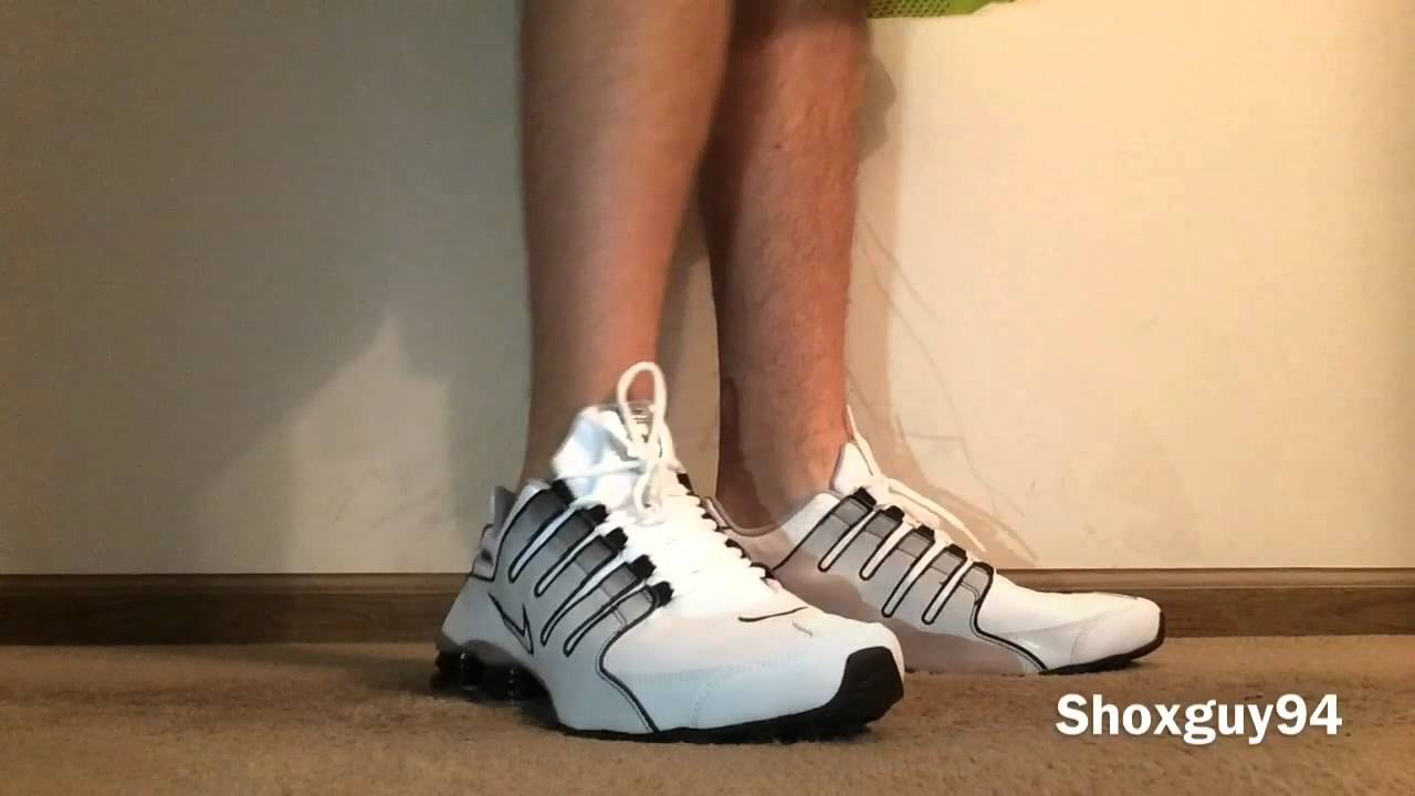 996a4707e33 Nike Shox NZ (white gray black fade) - YouTube