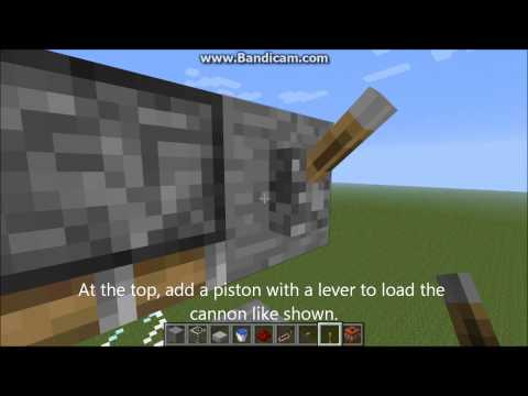 Minecraft - Highly Efficient TNT Cannon Concept w/Tutorial