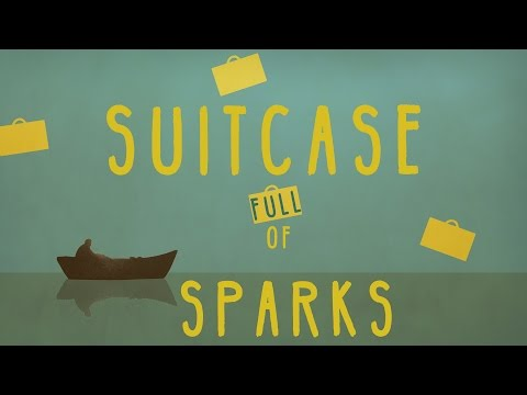Gregory Alan Isakov - Suitcase Full of Sparks (2D animation w/ lyrics)