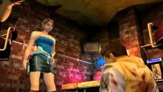 Resident Evil 3: Nemesis cutscenes - Meeting Brad (alternate) [Jill and Brad]