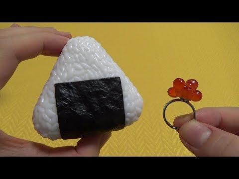 Capsule toys 47 - Rice Ball Fillings Ring