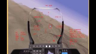 F-22 vs Su-35 Dogfight (1997 F-22 ADF)