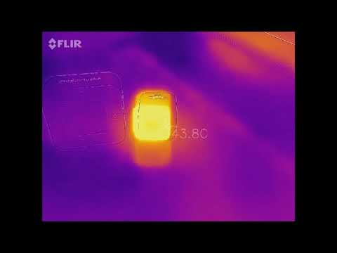 How hot does the GoPro Hero 5 Session gets? Measured with the Flir One thermal camera