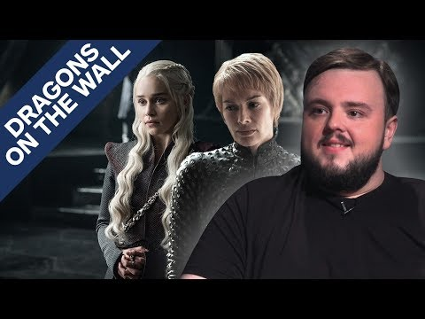 Game of Thrones Season 7 Predictions & Death Wishes ft John Bradley  Dragons on the Wall