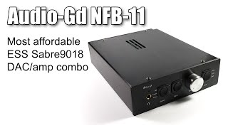 Audio Gd NFB-11 DAC and amplifier