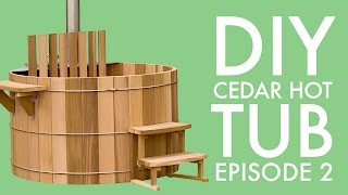 DIY Cedar Hot Tub (Episode 2): Cutting the Staves