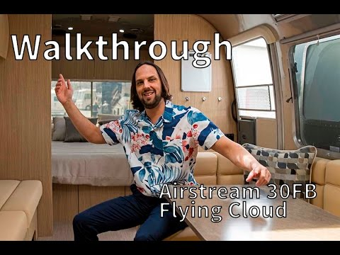 2017 Airstream Flying Cloud 30FB Bunk Walkthrough