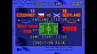HALF-YEAR CUP 2018 - CZECH.REP.-SCOTLAND 2-1