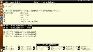 Bind DNS Server auf Raspberry / Linux / Ubuntu installieren