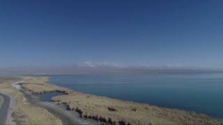 Keluke Lake, a pearl in China's Qaidam Basin