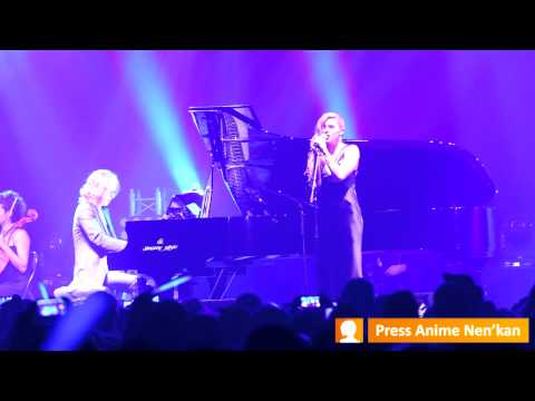 Yoshiki - TEARS feat. Katie Fitzgerald Live @JapanExpo 15° Impact
