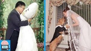 6 unglaubliche Hochzeiten, die so wirklich existierten!