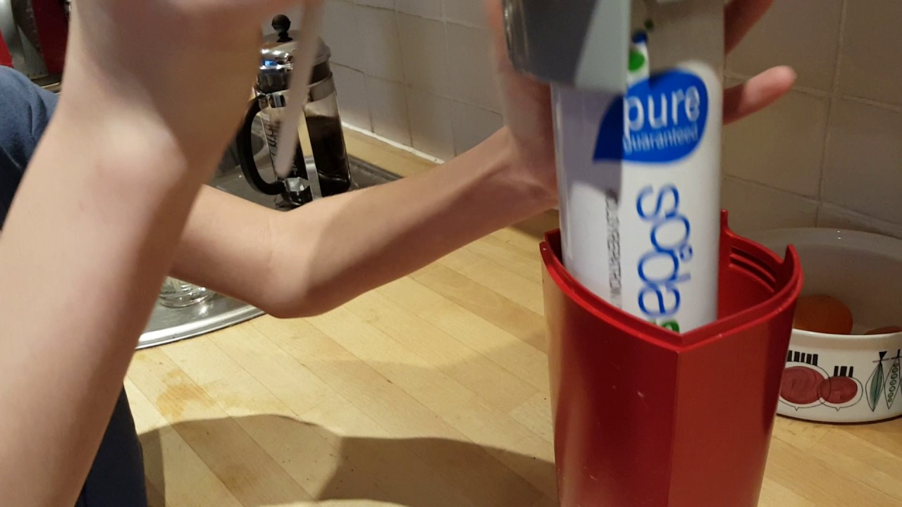 Instructions How To Start Up Your Sodastream Youtube