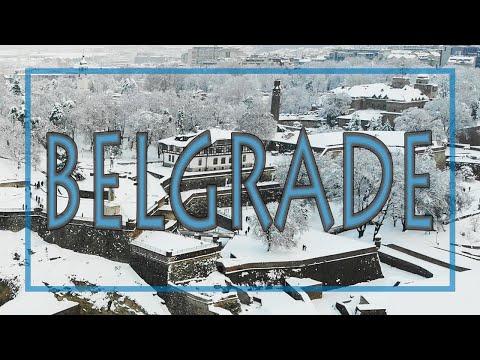 Snowy Belgrade