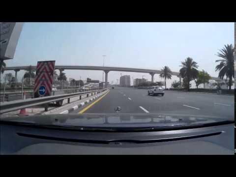 Abu Dhabi To Sharjah Road Video