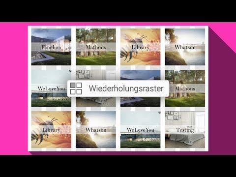 Publishingblog.ch – XD Wiederholungsraster mit verschiedenen Bilder und Texte befüllen