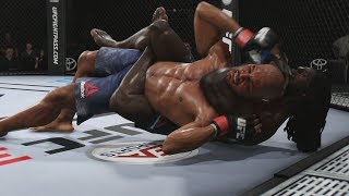 UFC 3 GOAT Career Mode - The Nightmare! EA Sports UFC 3 Gameplay PS4