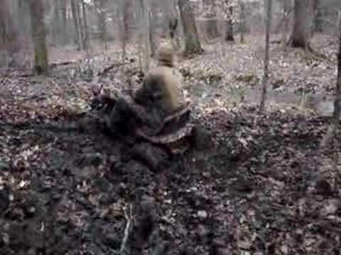 Lawn Mower Racing >> racing lawnmower stuck in mud - YouTube