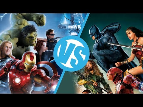 The Avengers VS Justice League : Movie Feuds
