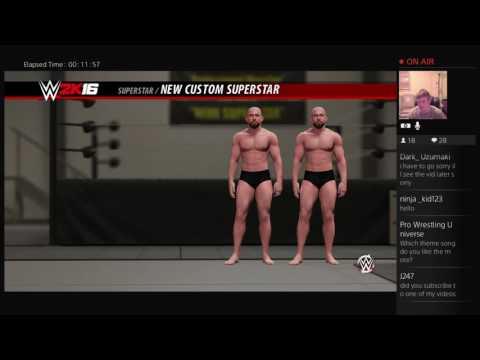 WWE 2K16 Creation: The Club Karl Anderson