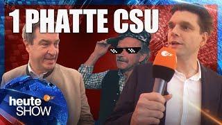 Lutz van der Horst macht die CSU hip! | heute-show vom 07.09.2018