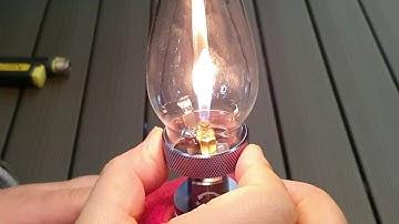 호롱랜턴 불 붙이는 방법
