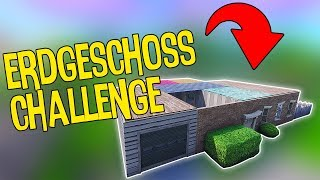 DIE ERDGESCHOSS CHALLENGE | Fortnite Battle Royale
