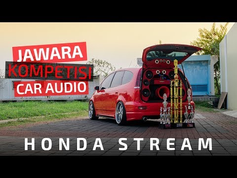 MODIFIKASI MOBIL  : SQL Honda Stream AJM Audioworks - Venom Audio
