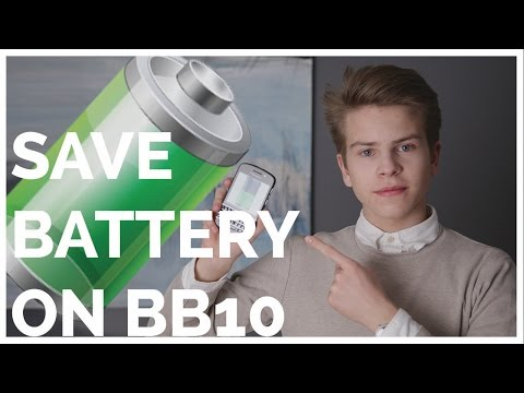 """HOW TO SAVE BATTERY ON BB10 - """"TOP 5 Tips!"""""""