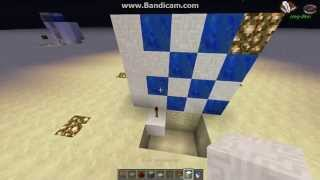 Как сделать автоматический душ в Minecraft