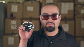 Frankie Tries Out the New Hawk Wireless Com-2 Bluetooth System | LeatherUp
