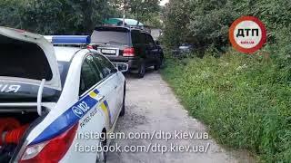 Экшн на Отрадном: ДТП, погоня, оружие, драка в Киеве на Галана: водитель Лексус остановил и отправил